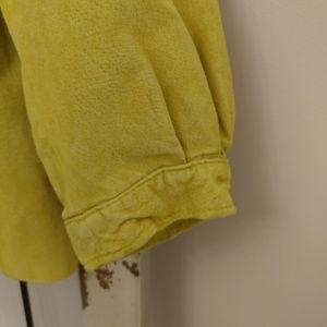 Dialogue Jackets & Coats - Dialogue yellow leather jacket XS